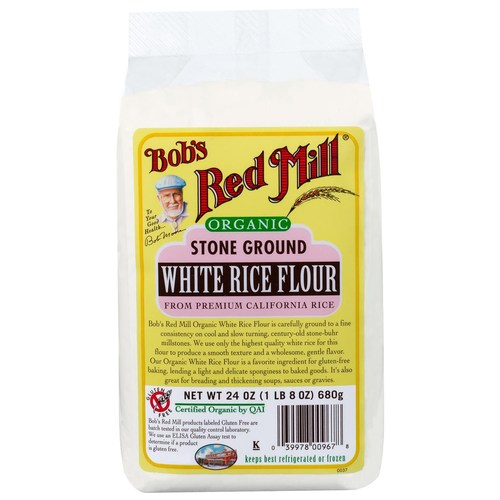 Stone Ground White Rice Flour (4 Pack)