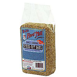 Bobs Red Mill Quick Cooking Steel Cut Oats (4 Pack)