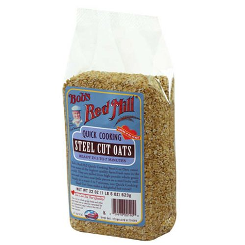 Quick Cooking Steel Cut Oats (4 Pack)