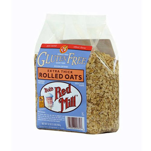 Gluten Free Extra Thick Rolled Oats (4 Pack)