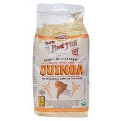 Bobs Red Mill Organic Whole Grain Quinoa