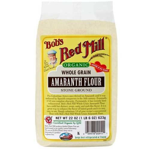 Organic Whole Grain Amaranth Flour