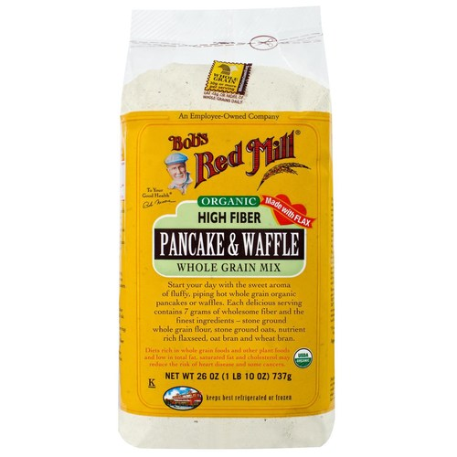 Organic High Fiber Pancake and Waffle Mix