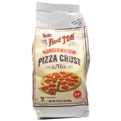 Gluten Free Pizza Crust Whole Grain Mix (4 Pack)