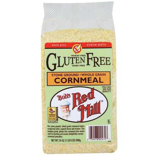 Gluten Free Medium Cornmeal (4 Pack)