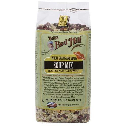 Whole Grains and Beans Soup Mix (4 Pack)