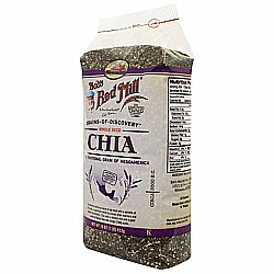 Bobs Red Mill Chia Seeds (4 Pack)