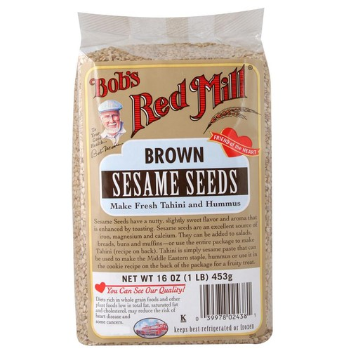 Brown Sesame Seeds (4 Pack)