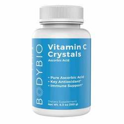 BodyBio Vitamin 'C' Crystals Ascorbic Acid 1,000 mg