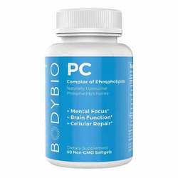 BodyBio PC (Phosphatidylcholine) 1300 mg