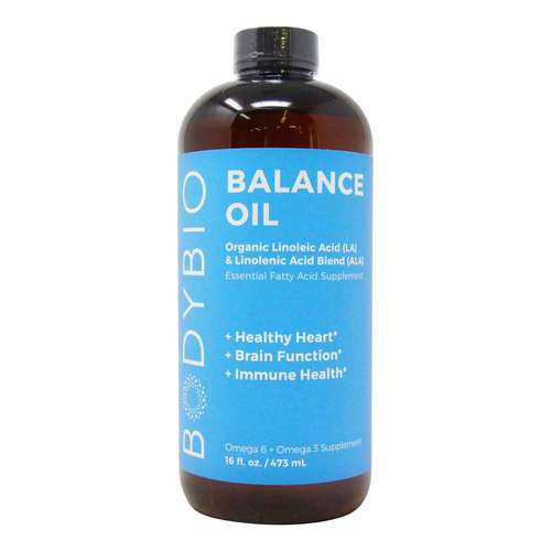 BodyBio Balance Oil Omega 3 and Omega 6 Essential Fatty Acids 473 ml - 358757_front2020new.jpg