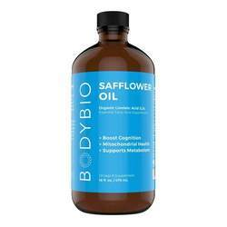 BodyBio Safflower Oil Organic Linoleic Acid Omega-6 Supplement