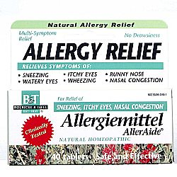Boericke and Tafel Allergiemittel AllerAide Homeopathic Allergy Relief