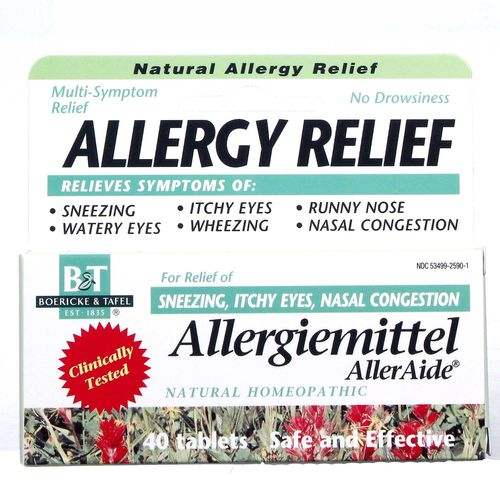 Allergiemittel AllerAide Homeopathic Allergy Relief