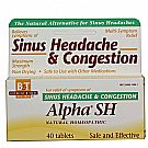 Boericke and Tafel Alpha SH Homeopathic Sinus Headache & Congestion
