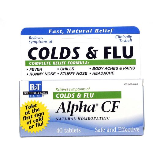 Alpha CF Homeopathic Cold  Flu