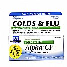 Boericke and Tafel Alpha CF Homeopathic Cold  Flu