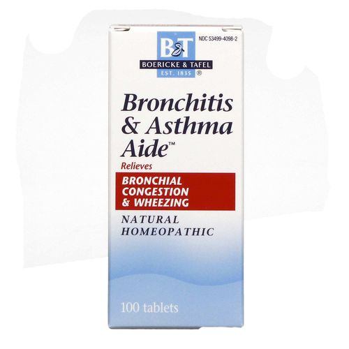 Bronchitis and Asthma Aide Natural Homeopathic