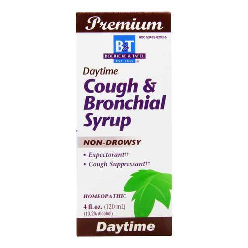 Boericke and Tafel Cough  Bronchial Syrup - 4 fl oz (120 ml) - 15009_front2020.jpg
