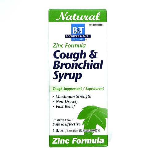 Cough & Bronchial Syrup with Zinc