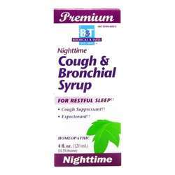 Boericke and Tafel Nighttime Cough  Bronchial Syrup