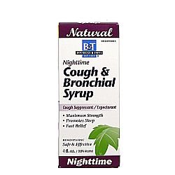 Boericke and Tafel Nighttime Cough & Bronchial Syrup