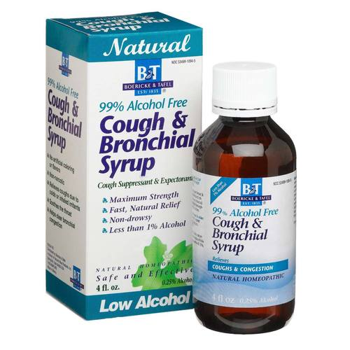 99% Alcohol Free Cough & Bronchial Syrup