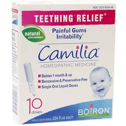 Boiron Camilia For Teething