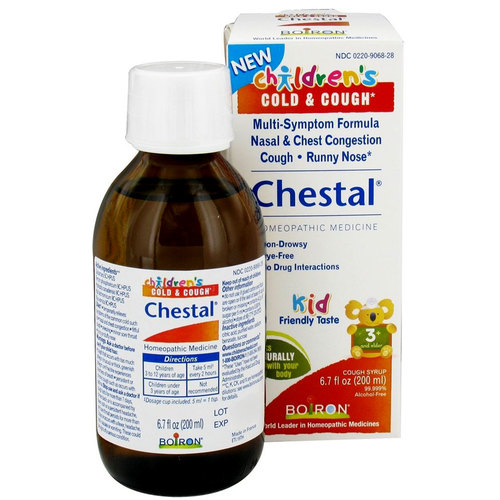 Boiron Chestal Cold  Cough For Children  - 6.7 oz