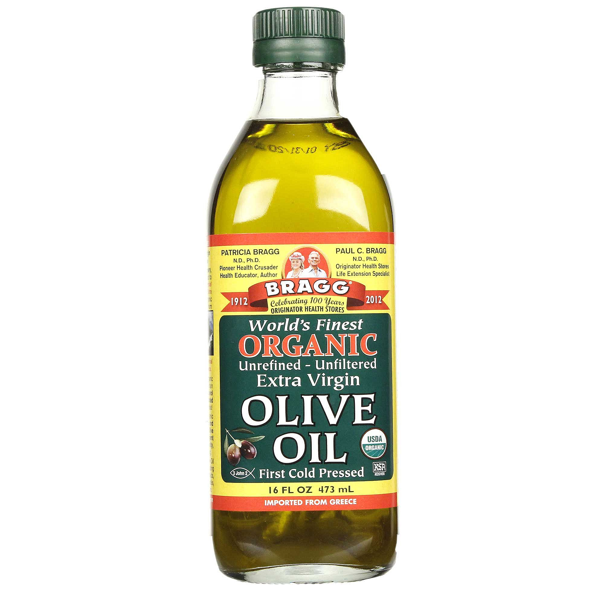 Bragg Organic Extra Virgin Olive Oil 16 Fl Oz
