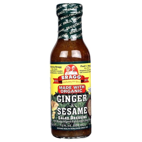Ginger and Sesame Salad Dressing