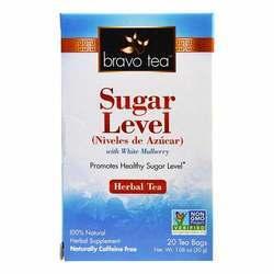 Bravo Tea Sugar Level Tea
