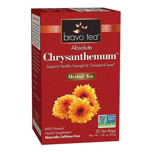 Bravo Tea Chrysanthemum Tea 20 Bags-1 Box - 352862_front2020.jpg