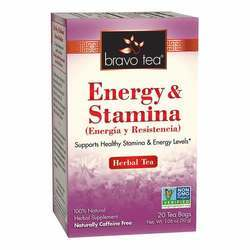 Bravo Tea Energy Stamina Tea