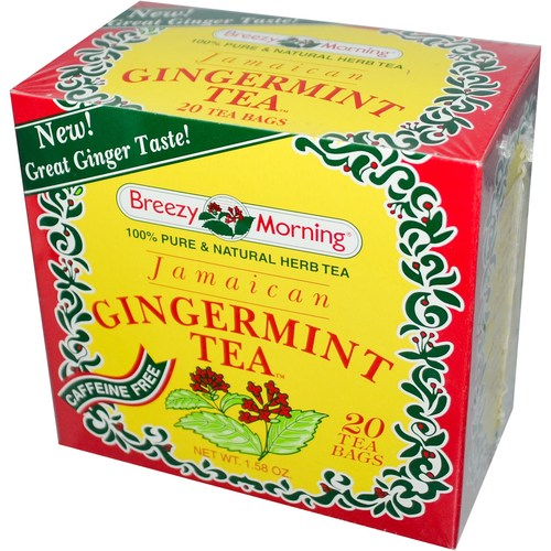 Jamaican Gingermint Tea