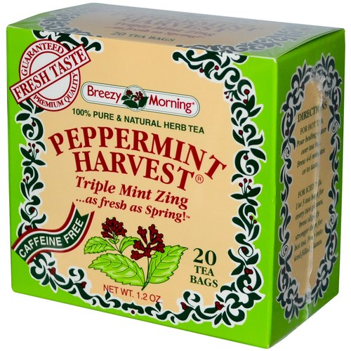 Peppermint Harvest Tea