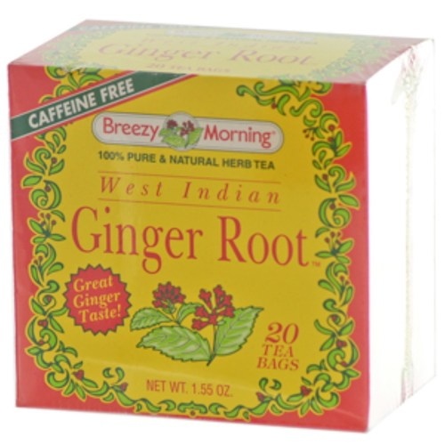 West Indian Ginger Root Tea