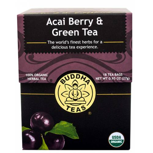 Buddha Teas Green Tea Acai Berry - 18 bags - 106288_1.jpg