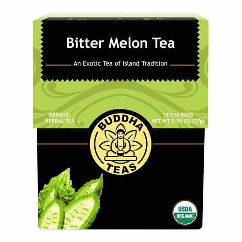 Buddha Teas Herbal Tea Bitter Melon - 18 bags - 106295_front2020.jpg