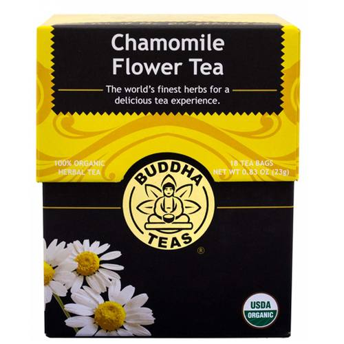 Buddha Teas Herbal Tea Chamomile - Flower - 18 bags - 106304_1.jpg