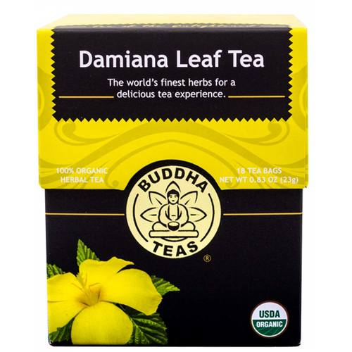 Buddha Teas Herbal Tea Hoja de damiana - 18 bags - 107299_1.jpg