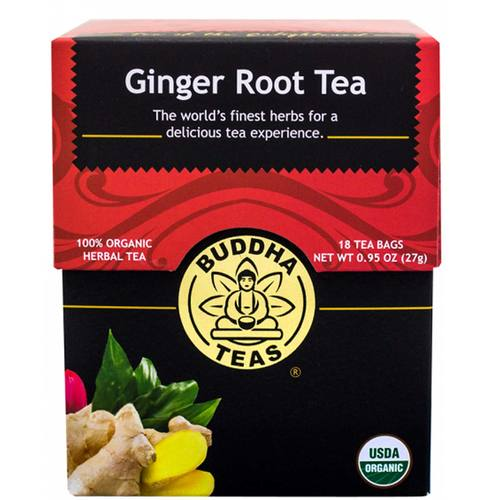 Buddha Teas Herbal Tea, ショウガ - Root - 18 bags - 107318_1.jpg