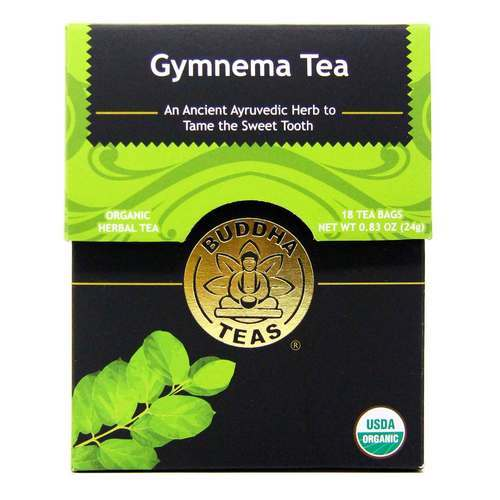 Buddha Teas Herbal Tea Gymnema - 18 bags - 107323_front2020.jpg