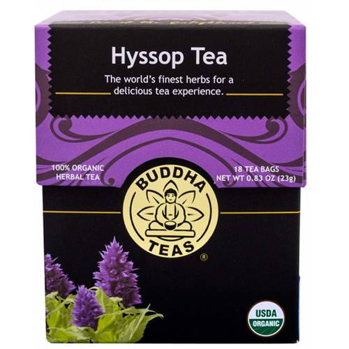 Buddha Teas Herbal Tea Hyssop - 18 bags - 107331_1.jpg