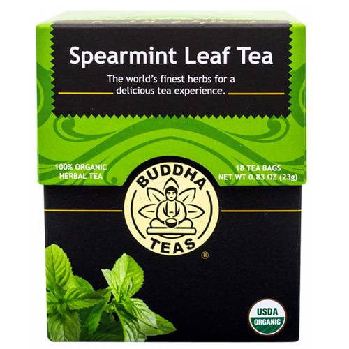 Buddha Teas Herbal Tea Spearmint Leaf - 18 bags - 107375_1.jpg