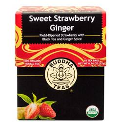 Buddha Teas Sweet Strawberry Ginger