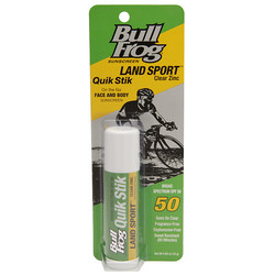 BullFrog Suncare Land Sport Quik Sunscreen Stick