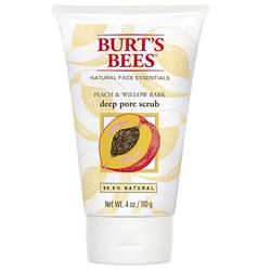 Burt's Bees Peach  Willowbark Deep Pore Scrub