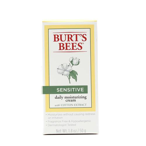 Sensitive Daily Moisturizing Cream with Cotton Extract