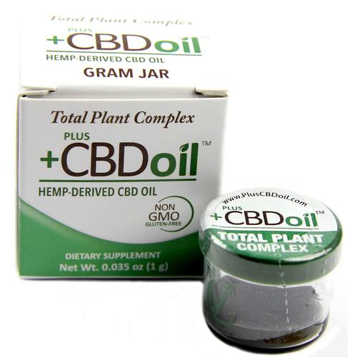 PlusCBD Oil Total Plant Complex Grams